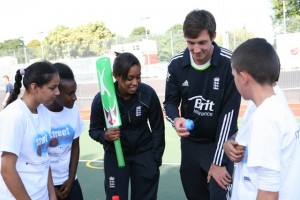 Coaching on Streetchance project in Brixton with Steven Finn