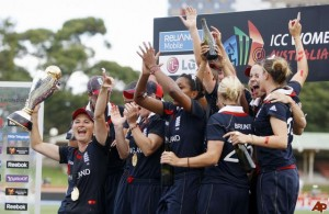 The moment England Women won the World Cup, Sydney 2009